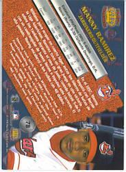 1998 Pacific #78 Manny Ramirez back image