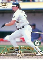 1998 Pacific #165 Jason Giambi