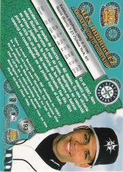 1998 Pacific #193 Alex Rodriguez back image