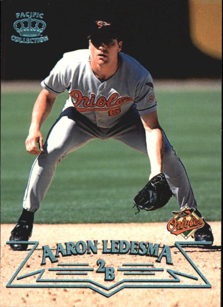 1998 Pacific Platinum Blue #27 Aaron Ledesma