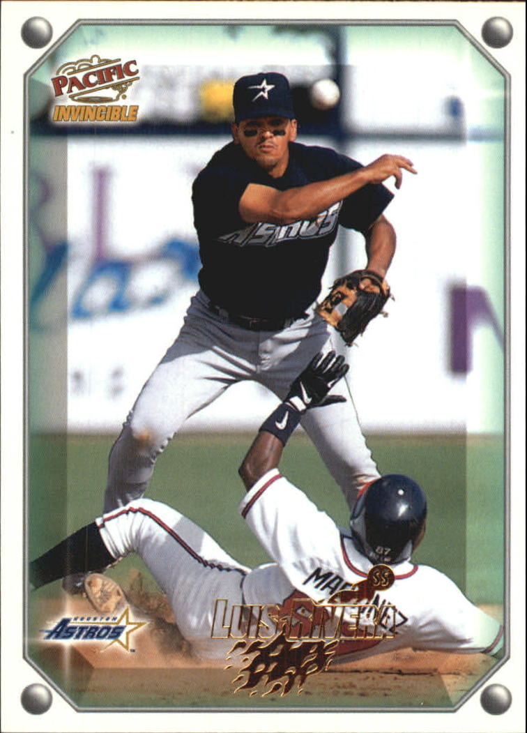 1998 Pacific Invincible Gems of the Diamond #165 Luis Rivera
