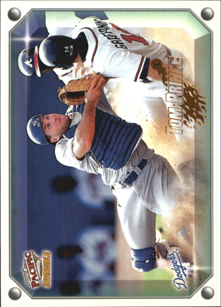 1998 Pacific Invincible Gems of the Diamond #173 Tom Prince