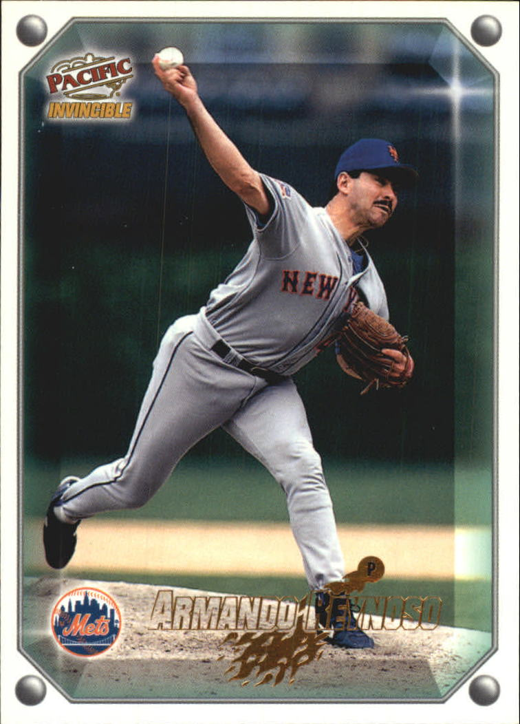 1998 Pacific Invincible Gems of the Diamond #185 Armando Reynoso