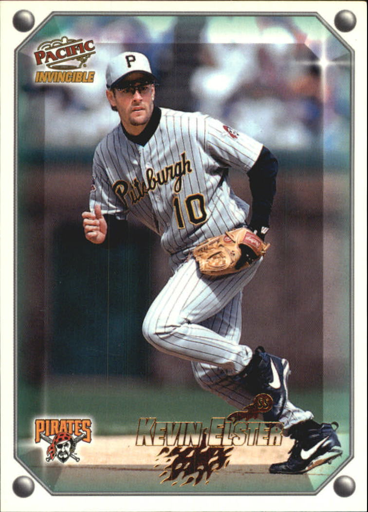 1998 Pacific Invincible Gems of the Diamond #195 Kevin Elster