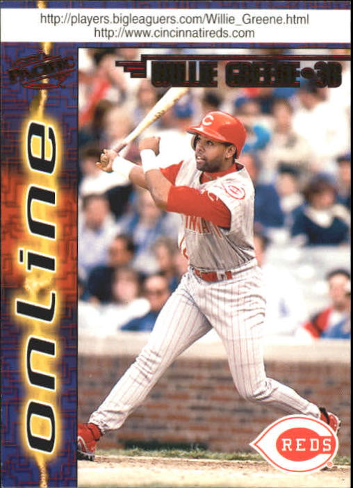 1998 Pacific Online Red #189 Willie Greene