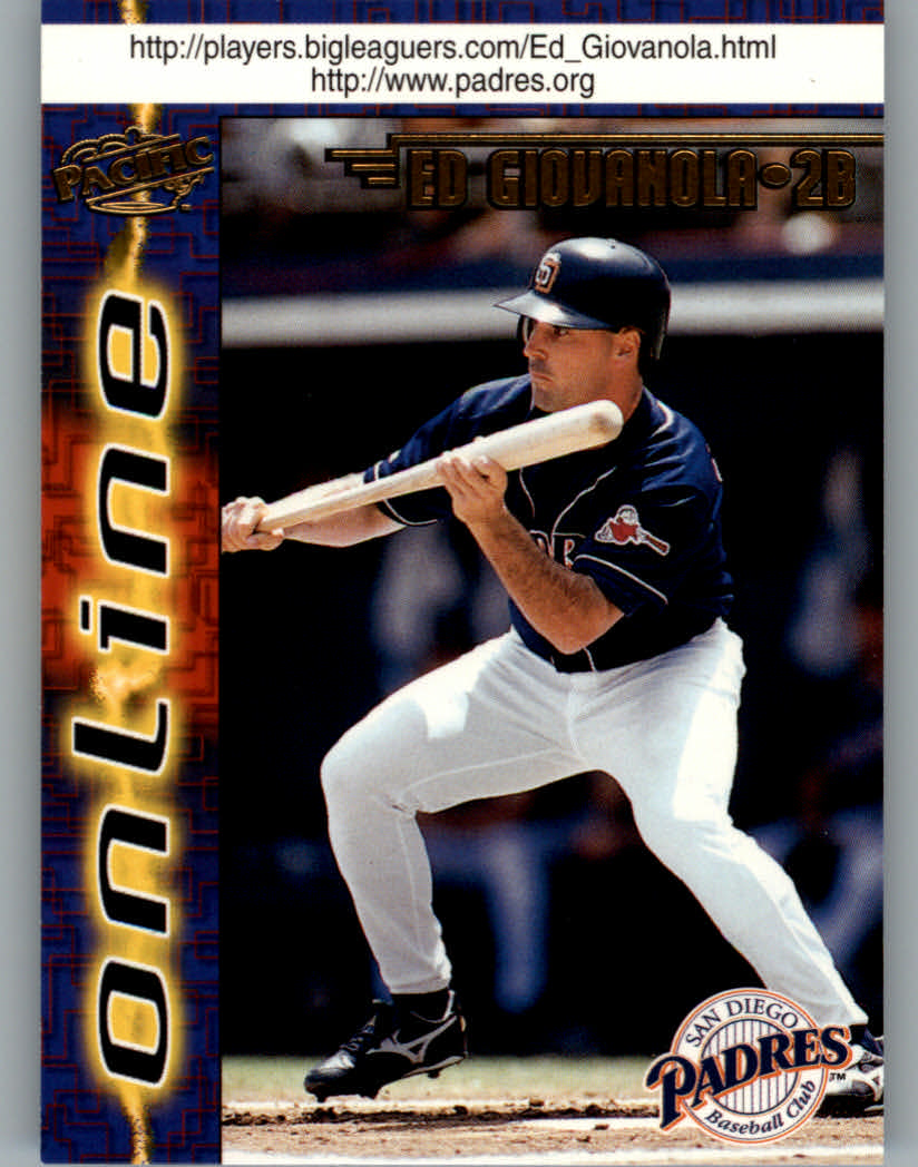 1998 Pacific Online Web Cards #635 Ed Giovanola