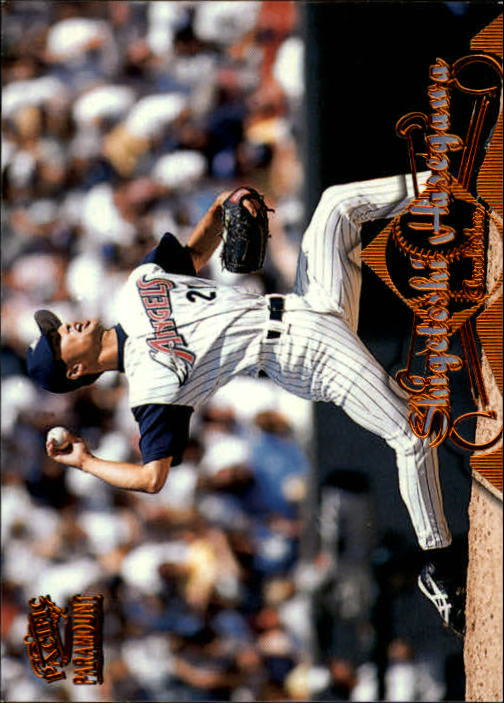 1998 Paramount Copper #8 Shigetoshi Hasegawa