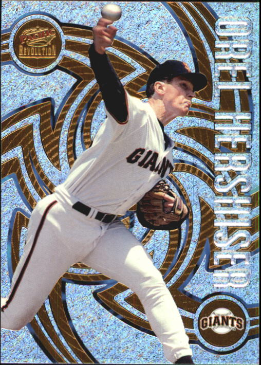 1998 Revolution #128 Orel Hershiser