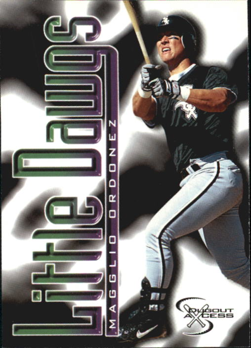 1998 SkyBox Dugout Axcess #103 Magglio Ordonez RC