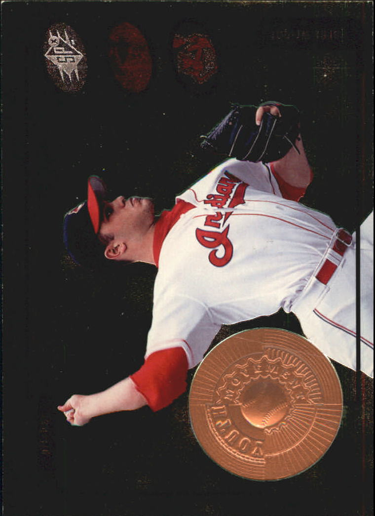 1998 SPx Finite #5 Jaret Wright YM