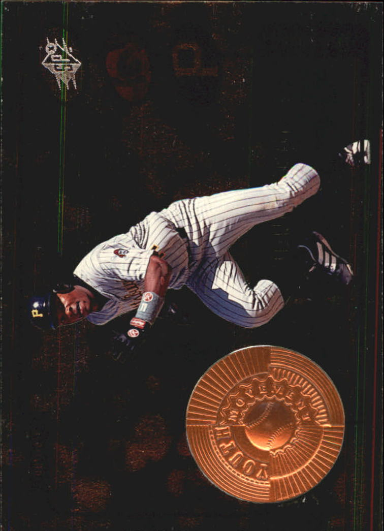 1998 SPx Finite #8 Jose Guillen YM