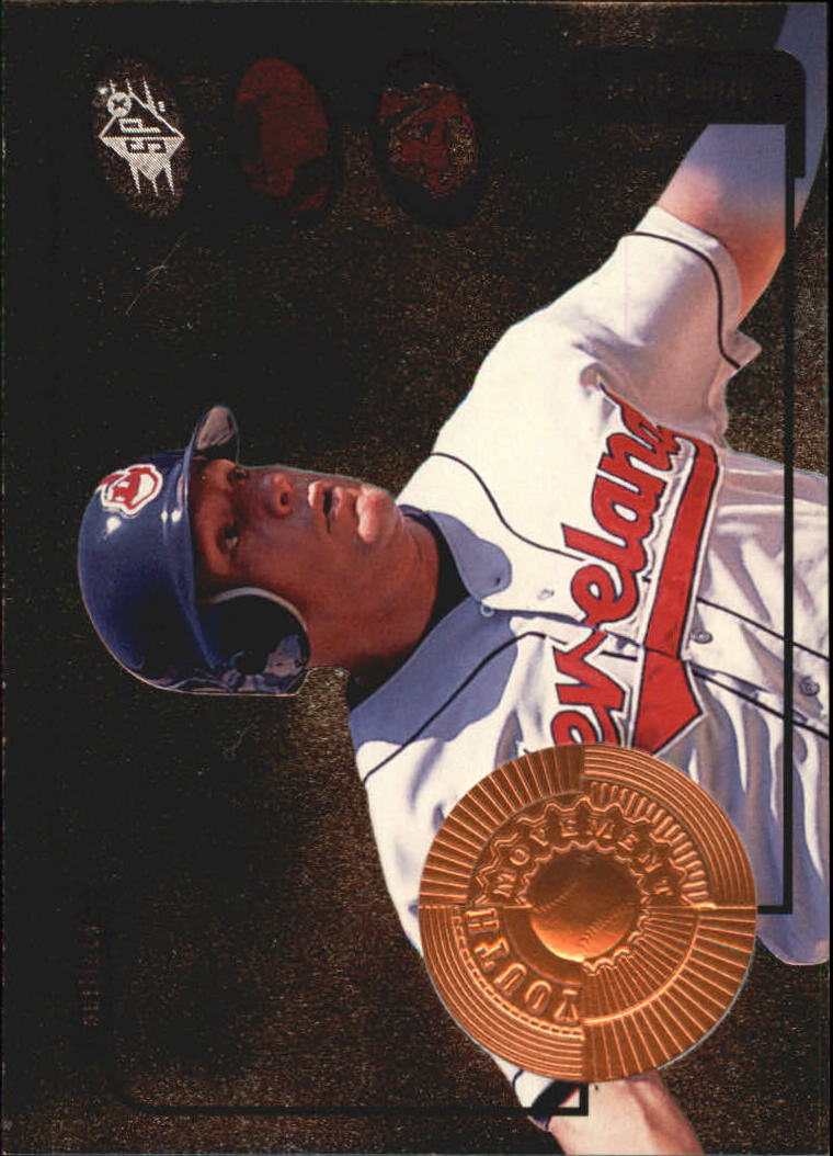 1998 SPx Finite #18 Brian Giles YM