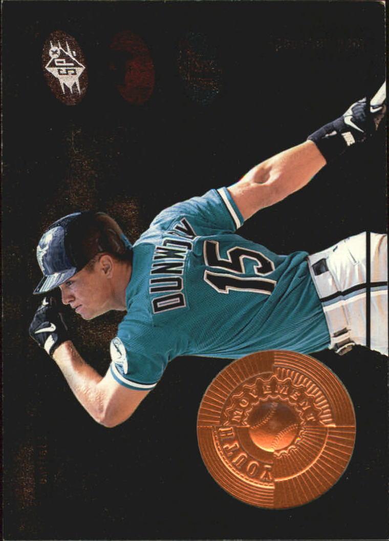 1998 SPx Finite #19 Todd Dunwoody YM