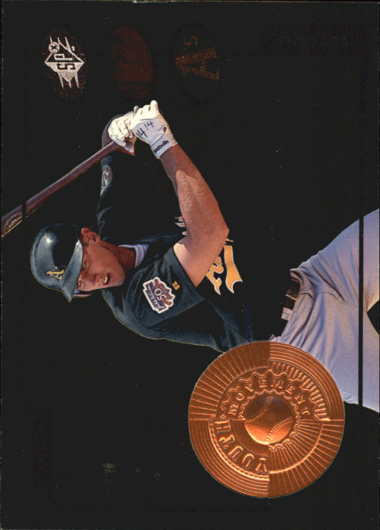 1998 SPx Finite #20 Ben Grieve YM