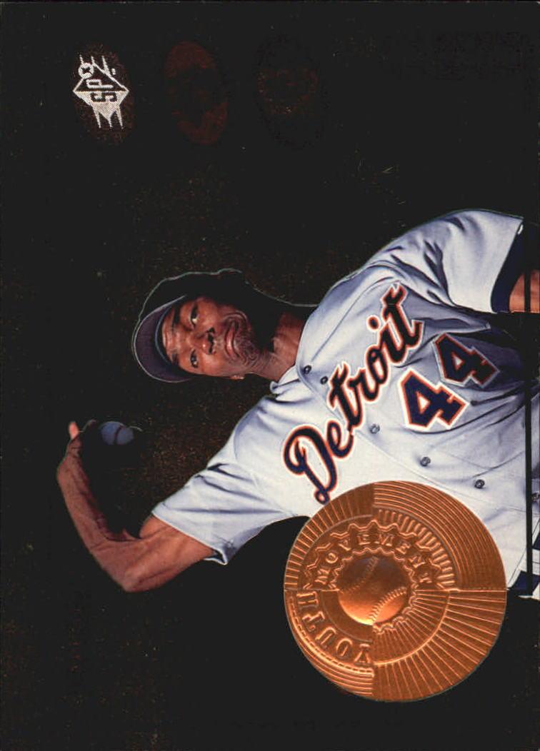 1998 SPx Finite #21 Juan Encarnacion YM