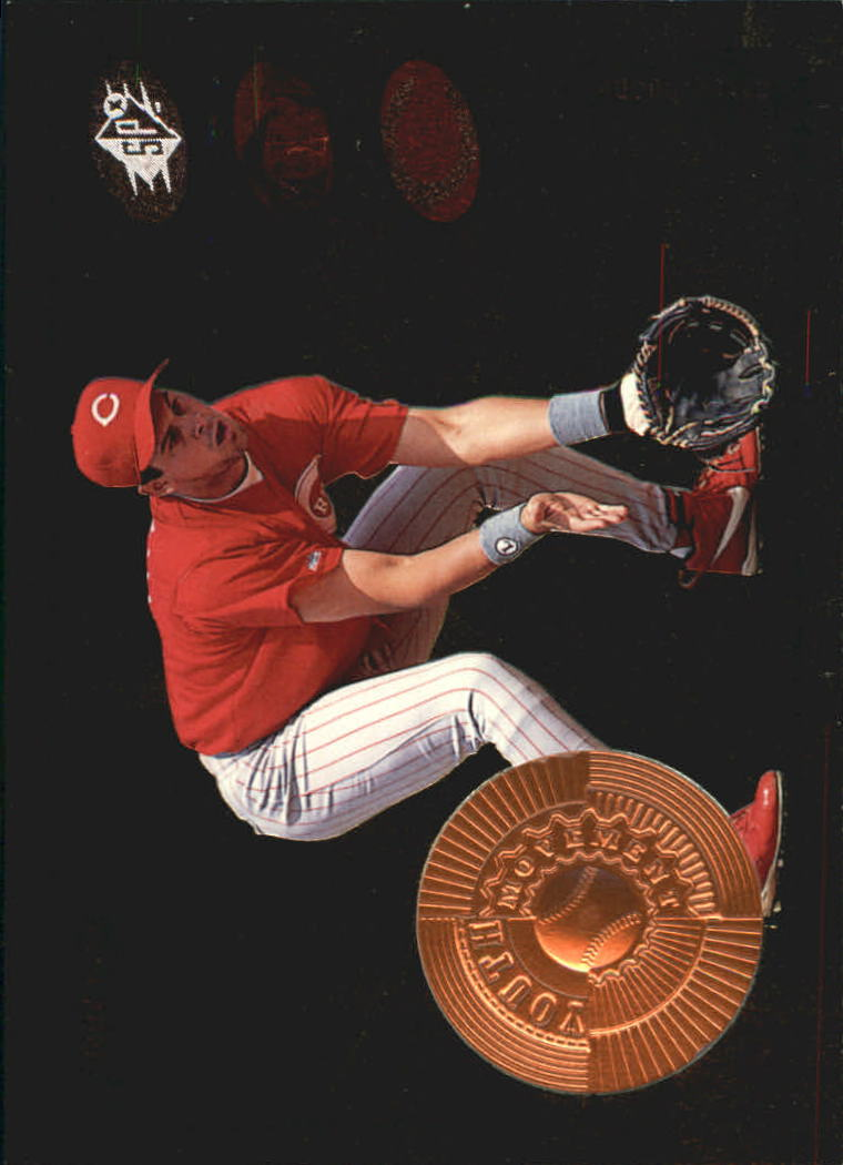 1998 SPx Finite #22 Aaron Boone YM