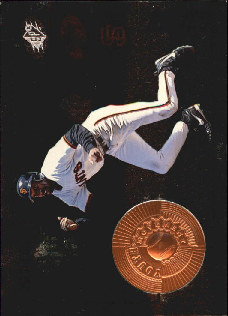1998 SPx Finite #28 Dante Powell YM