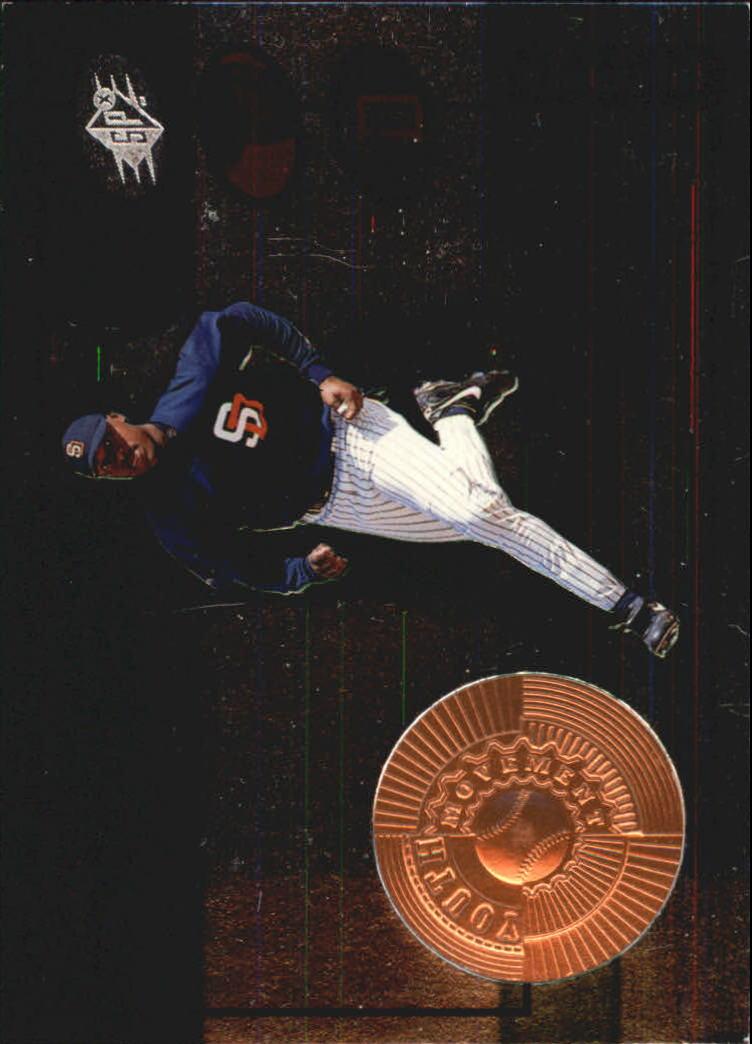 1998 SPx Finite #184 Gary Matthews Jr. YM RC
