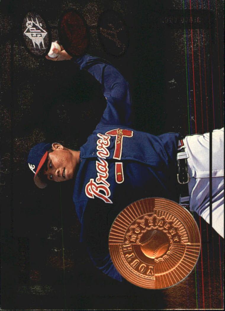 1998 SPx Finite #191 Bruce Chen YM