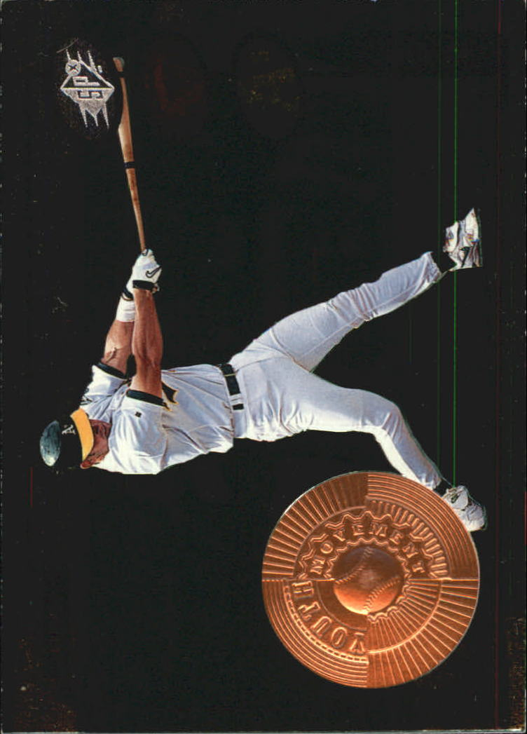 1998 SPx Finite #195 A.J. Hinch YM