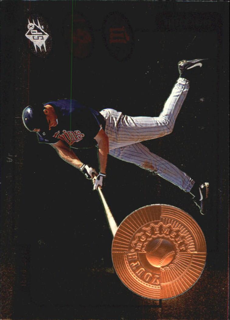 1998 SPx Finite #198 Corey Koskie YM RC