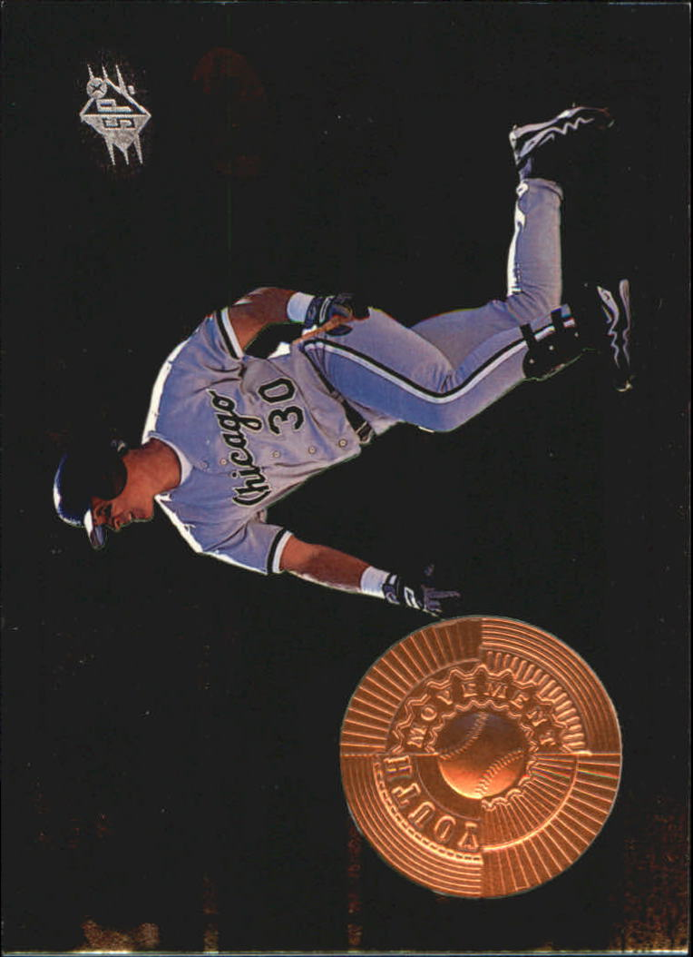 1998 SPx Finite #203 Magglio Ordonez YM RC