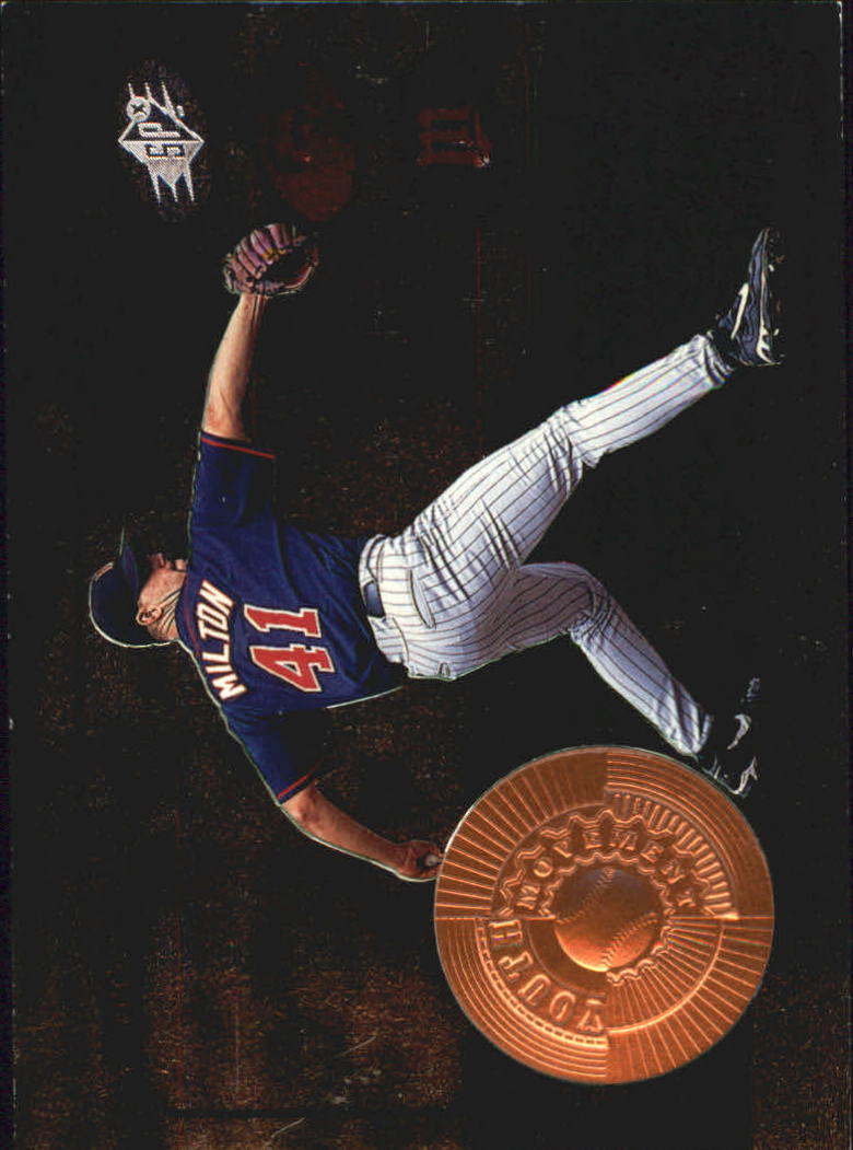 1998 SPx Finite #204 Eric Milton YM