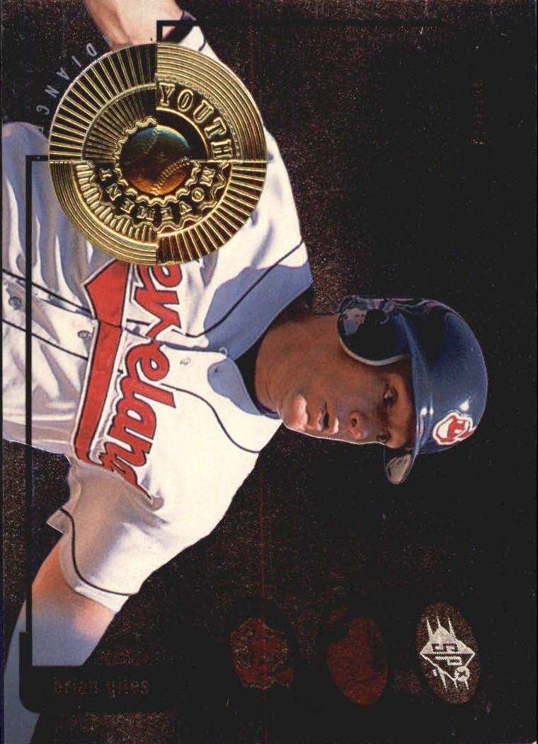 1998 SPx Finite Radiance #18 Brian Giles YM