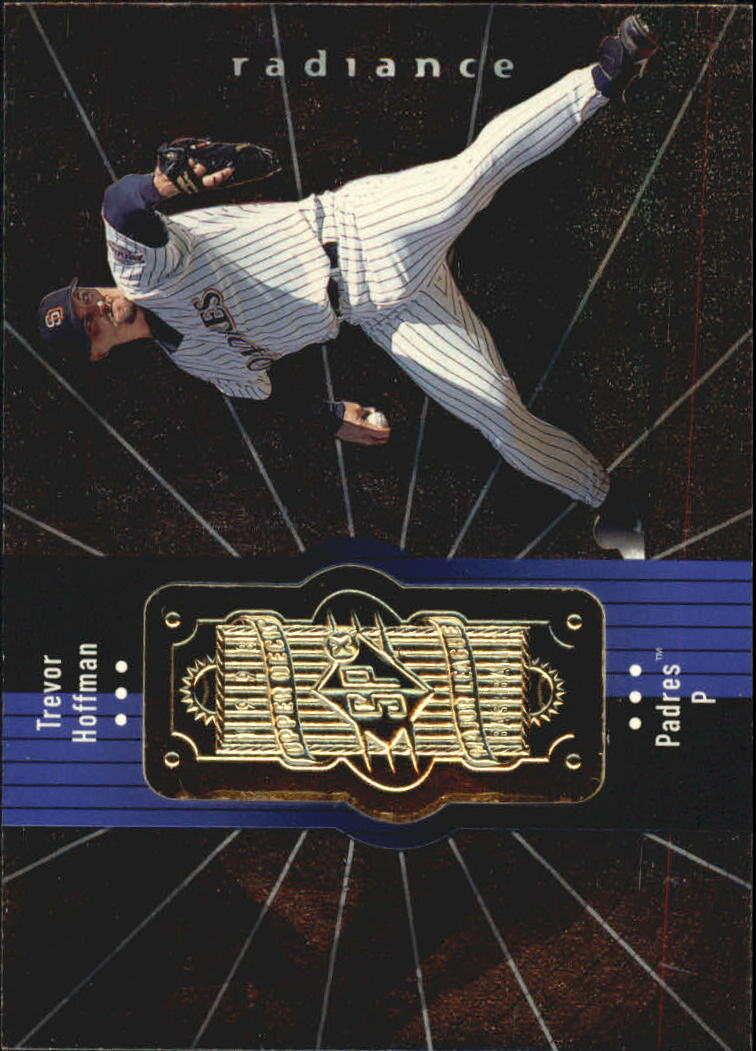 1998 SPx Finite Radiance #124 Trevor Hoffman