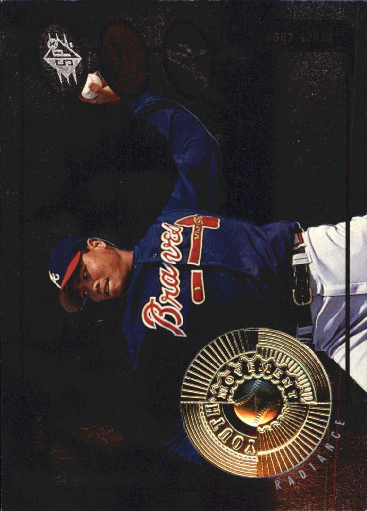 1998 SPx Finite Radiance #191 Bruce Chen YM