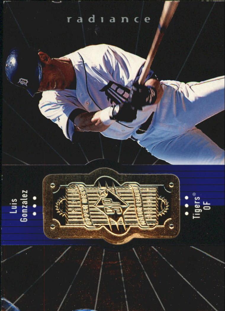 1998 SPx Finite Radiance #274 Luis Gonzalez
