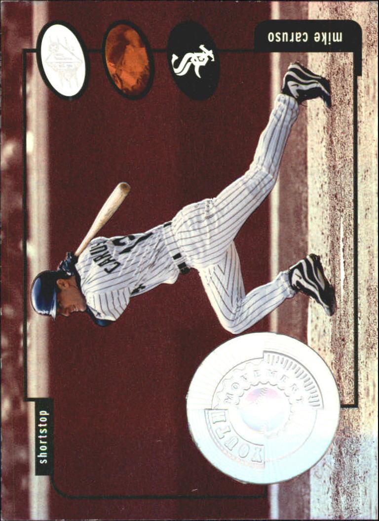 1998 SPx Finite Spectrum #181 Mike Caruso YM