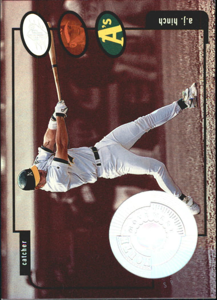 1998 SPx Finite Spectrum #195 A.J. Hinch YM