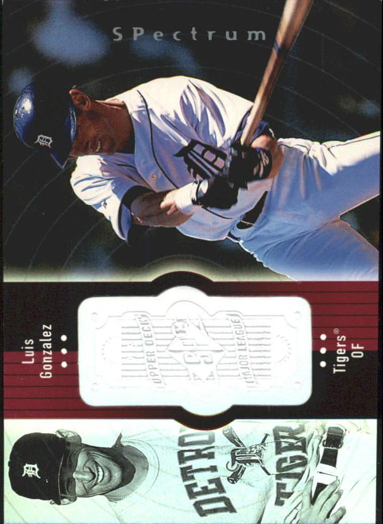 1998 SPx Finite Spectrum #274 Luis Gonzalez