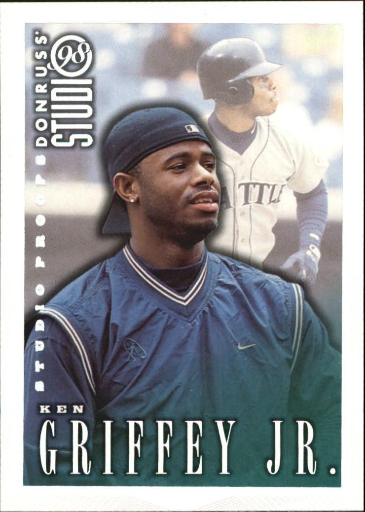 1998 Studio Silver Press Proofs #112 Ken Griffey Jr.
