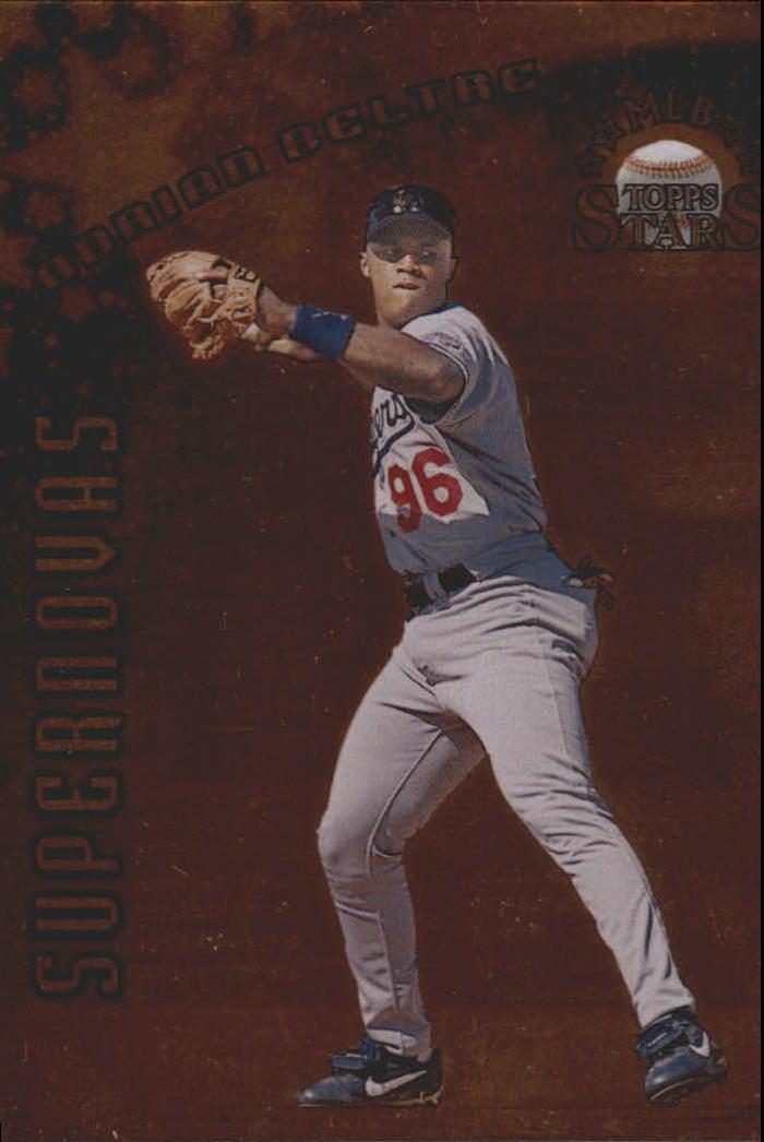 1998 Topps Stars Supernovas Bronze #S4 Adrian Beltre