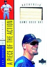 1998 Upper Deck A Piece of the Action 1 #1 Jay Buhner Bat