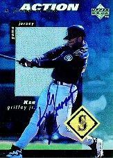 1998 Upper Deck A Piece of the Action 3 #KGS Ken Griffey Jr. AU/24