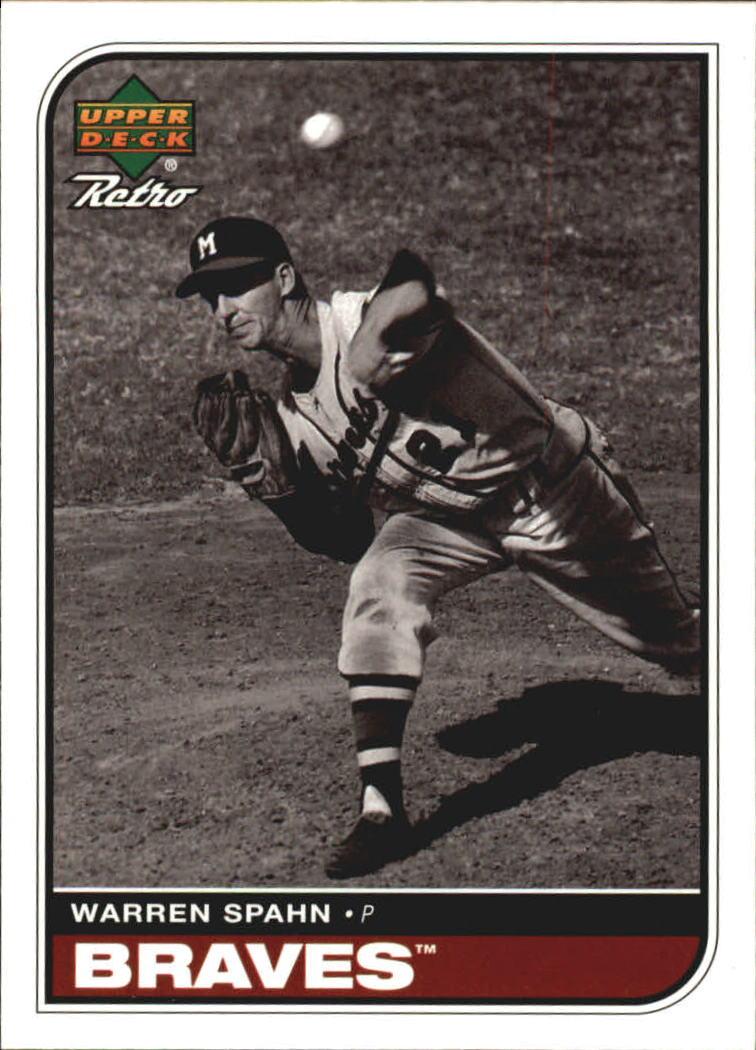 1998 Upper Deck Retro #50 Warren Spahn