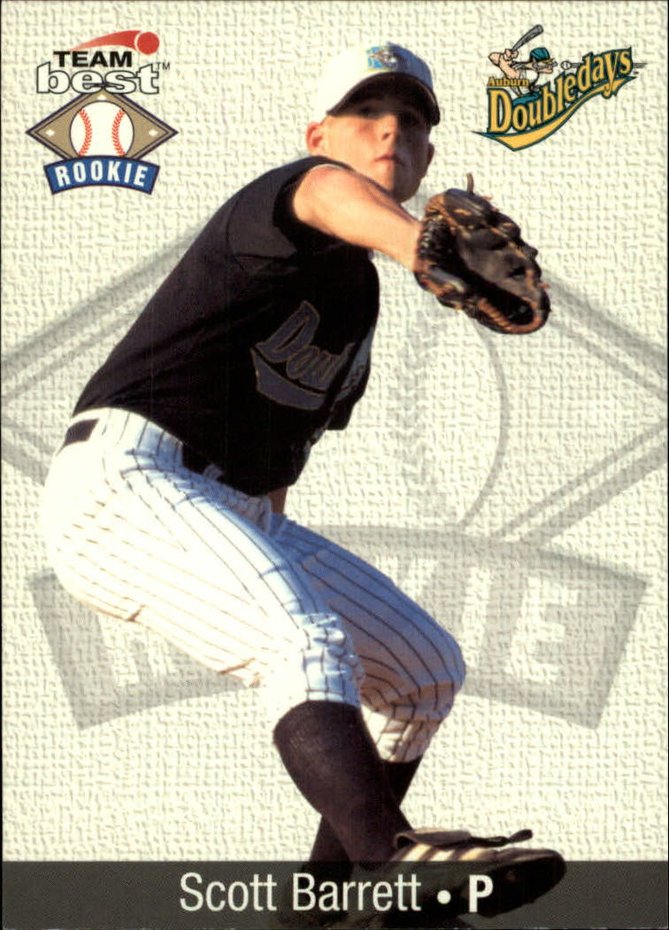 1999 Team Best Rookies #2 Scott Barrett
