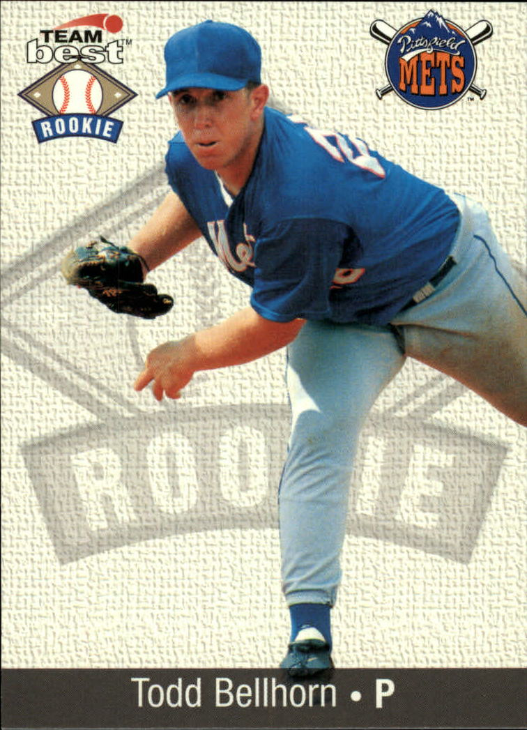 1999 Team Best Rookies #3 Todd Bellhorn