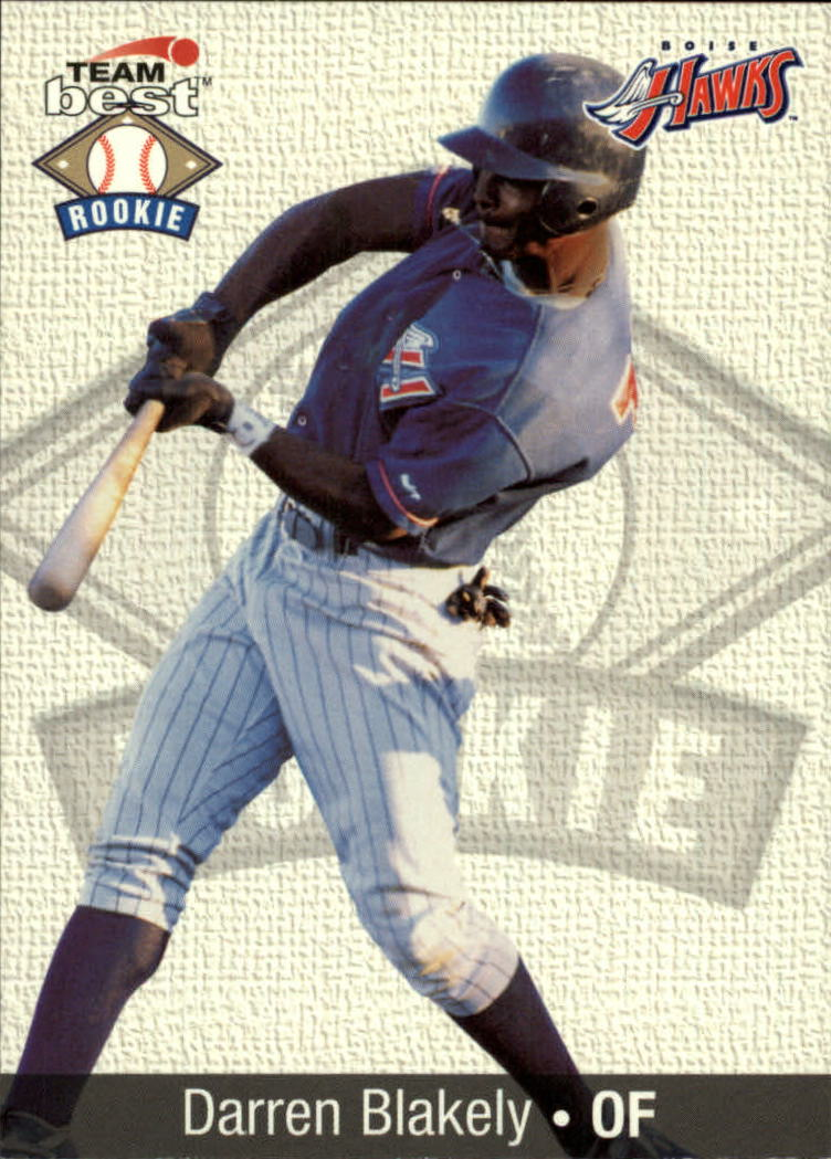 1999 Team Best Rookies #4 Darren Blakely