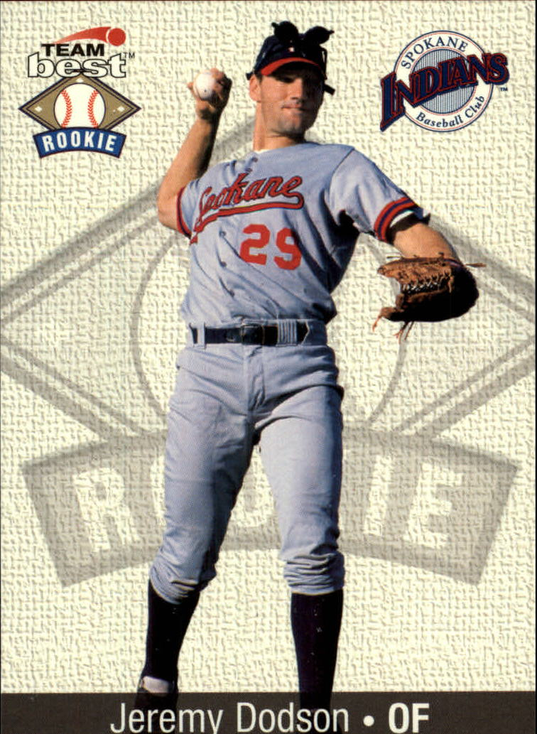 1999 Team Best Rookies #19 Jeremy Dodson