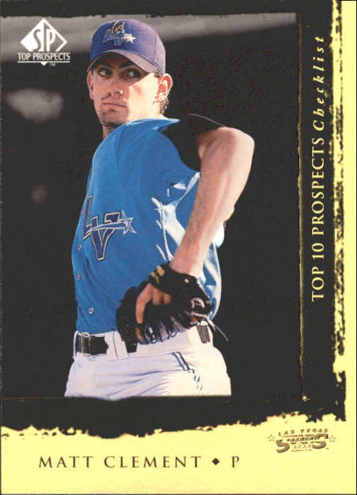 1999 SP Top Prospects #2 Matt Clement T10