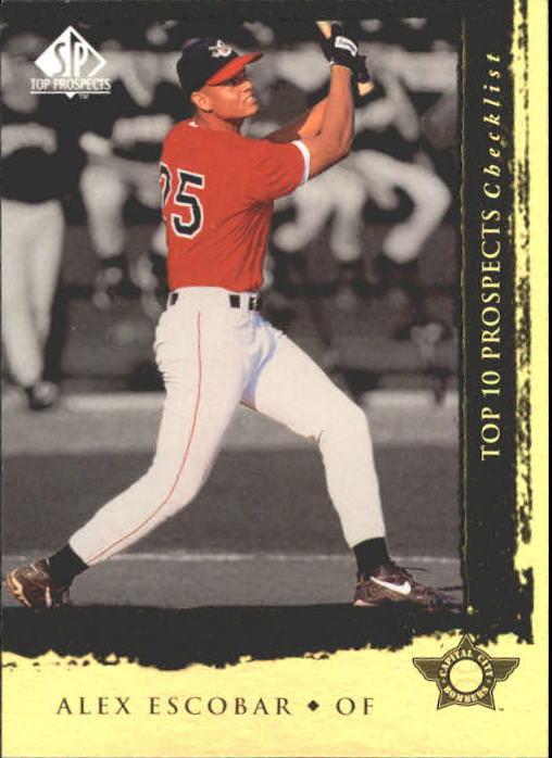 1999 SP Top Prospects #5 Alex Escobar T10