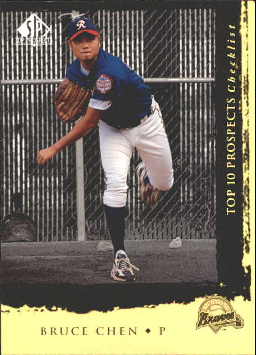 1999 SP Top Prospects #10 Bruce Chen T10