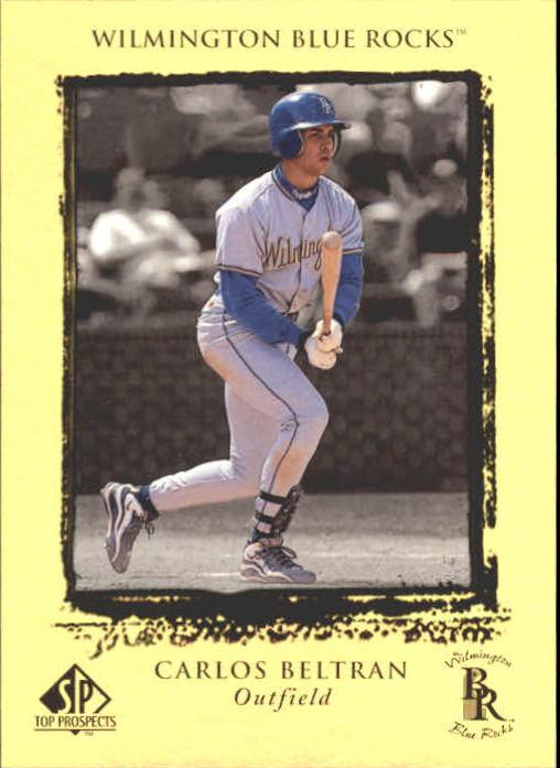 1999 SP Top Prospects #15 Carlos Beltran
