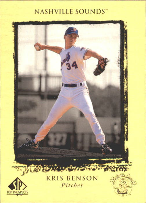 1999 SP Top Prospects #17 Kris Benson