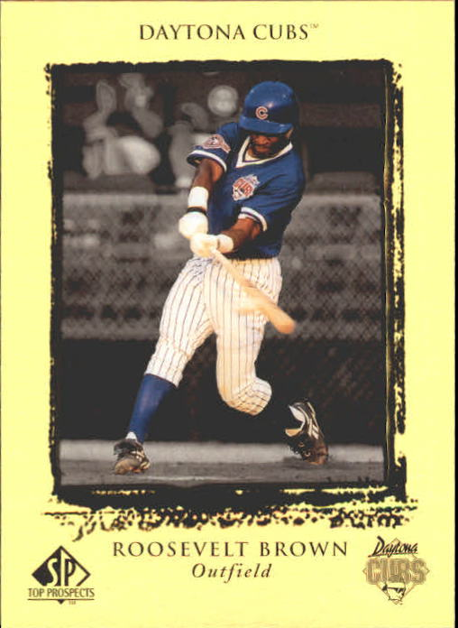 1999 SP Top Prospects #22 Roosevelt Brown
