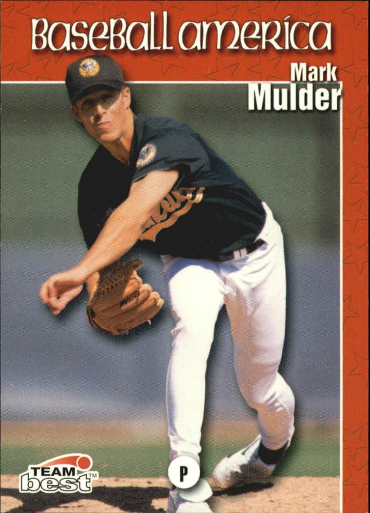 1999 Baseball America #70 Mark Mulder